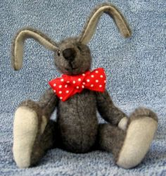Upcycled Cashmere Rabbit