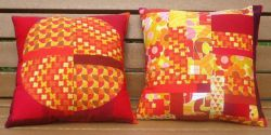 100% quilting cotton decorative pillows