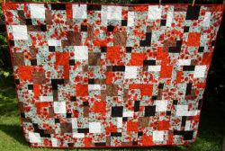 Disappearing Nine Patch Lap Quilt