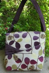 Handbag Made with Upholstery Fabric